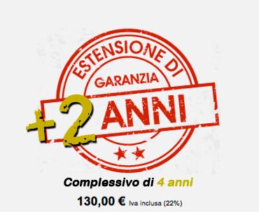 Estensione di Garanzia +2 anni