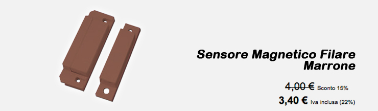 Sensore Magnetico Filare Marrone