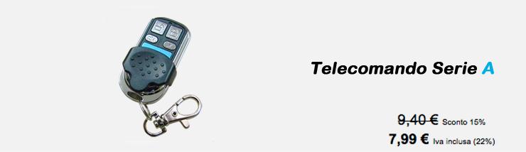 Telecomando Serie A