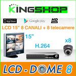 KIT LCD DOME 8