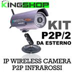 TELECAMERA IP WIRELESS P2P/2