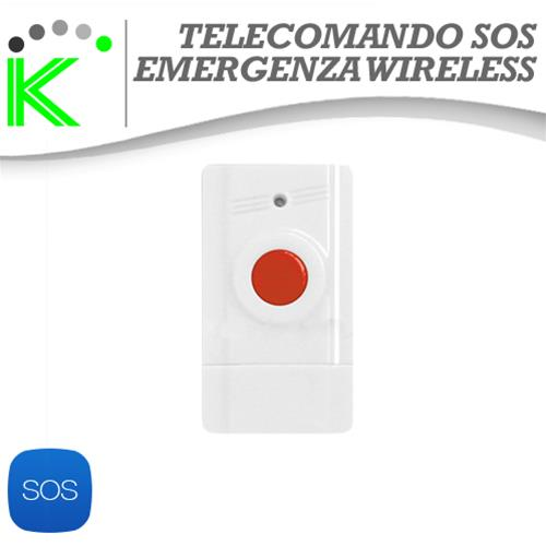 TELECOMANDO SOS ANTIPANICO WIRELESS