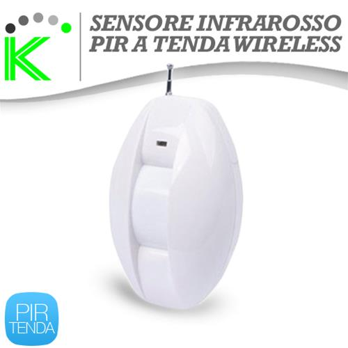 PIR DUAL PASSIVE INFRAROSSI WIRELESS A TENDA