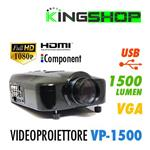VIDEOPROIETTORE VP 1500 HD READY