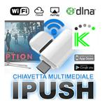 IPUSH - CHIAVETTA MULTIMEDIALE