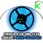 5M LED 3528 BLU ALTA LUMINOSITÀ