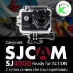 "SJ4000 BLACK 1080P Full HD ACTION CAMERA SPORT 1,5"" DISPLAY SJCAM"