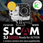 "SJ4000 WI-FI EDITION WHITE 1080P Full HD ACTION CAMERA SPORT 1,5"" DISPLAY SJCAM"
