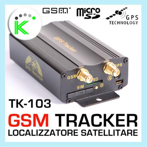 GPS TRACKER TK-103 SATELLITARE AUTO