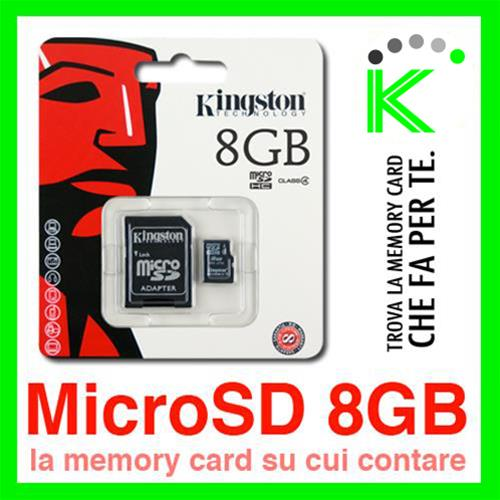 KINGSTON MICRO SD CARD 8GB