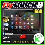 "TABLET FLYTOUCH 9 ANDROID 16GB DISPLAY 10"" DUAL CORE 16GB WI-FI 1GB RAM"