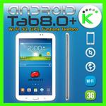 "ANDROID TAB 8.0+ 3G GPS WIFI DISPLAY 8"" HD IPS FUNZIONE TELEFONO 16GB"