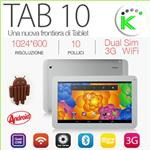"TAB 10 3G GPS TELEFONO QUAD CORE ANDROID DISPLAY 10.1"" 8GB"