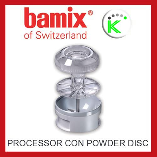 PROCESSOR W/POWDER DISC BX PROCESSOR