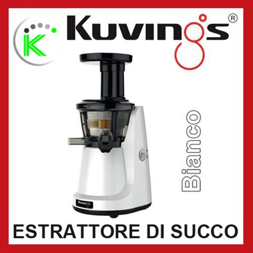 KUVINGS ESTRATTORE A BASSI GIRI SILENT JUICER NS750 WH BIANCO KVG NS998 WH