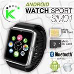 ANDROID SPORT WATCH OROLOGIO TELEFONO BLUETOOTH MOD. SM01