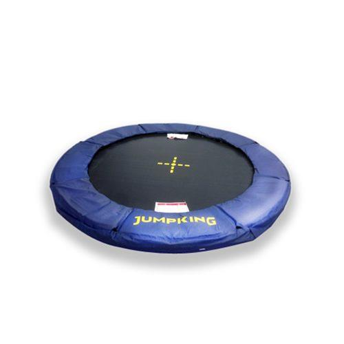 TRAMPOLINO TAPPETO ELASTICO DA TERRA JUMPKING INGROUND 12 FT 370 CM