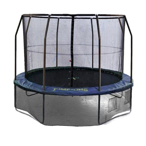 TRAMPOLINO TAPPETO ELASTICO JUMPKING DELUXE PROFESSIONAL 8 FT 240 CM