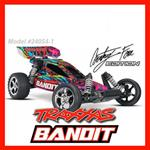 TRAXXAS BANDIT MOD.24054 - 1:10 EXTREME SPORT - BUGGY 2WD RTR