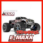 TRAXXAS E-MAXX BRUSHLESS RTR MOD.39087-3 TQI SYSTEM