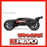 TRAXXAS E-REVO MOD.56085- BRUSHLESS 4X4 2.4 GHZ - TQI WATERPROOF