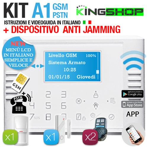 ANTIFURTO GSM PSTN WIRELESS A1