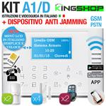 ANTIFURTO GSM PSTN WIRELESS A1D