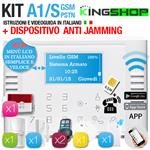 ANTIFURTO GSM PSTN WIRELESS A1S