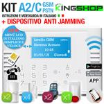 ANTIFURTO GSM PSTN WIRELESS A2C