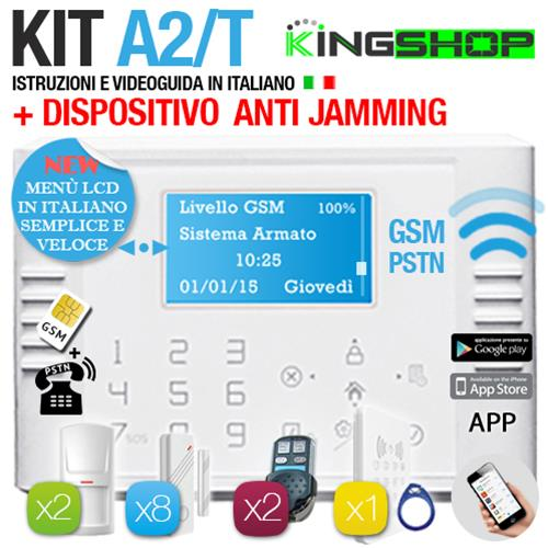 ANTIFURTO GSM PSTN WIRELESS A2T