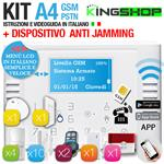 ANTIFURTO GSM PSTN WIRELESS A4