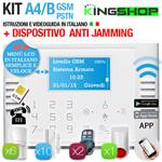 ANTIFURTO GSM PSTN WIRELESS A4B