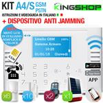 ANTIFURTO GSM PSTN WIRELESS A4S