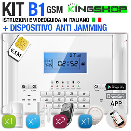ANTIFURTO GSM WIRELESS B1