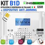 ANTIFURTO GSM WIRELESS B1D