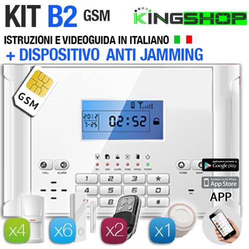 ANTIFURTO GSM WIRELESS B2