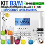 ANTIFURTO GSM WIRELESS B3/M