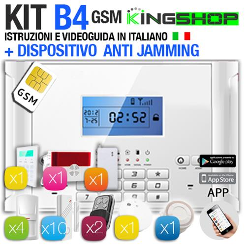 ANTIFURTO GSM WIRELESS B4