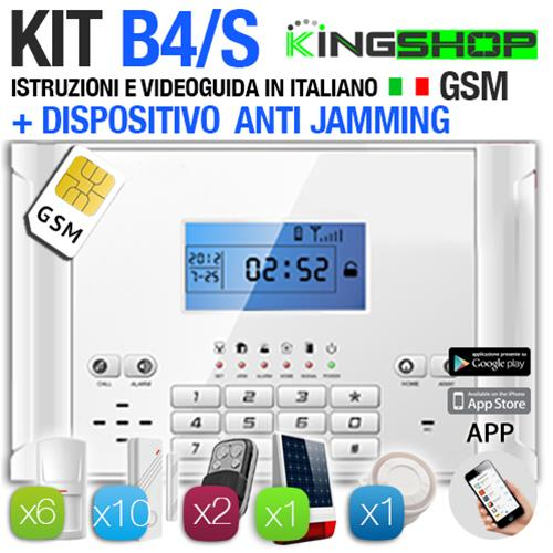 ANTIFURTO GSM WIRELESS B4/S
