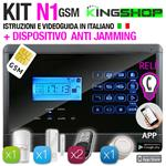ANTIFURTO GSM WIRELESS N1 BLACK EDITION