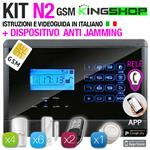 ANTIFURTO GSM WIRELESS N2 BLACK EDITION
