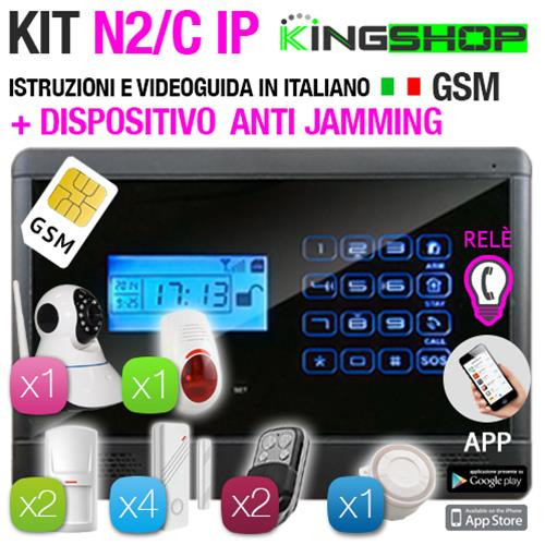 ANTIFURTO GSM WIRELESS N2C/IP BLACK EDITION