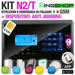 ANTIFURTO GSM WIRELESS N2T BLACK EDITION