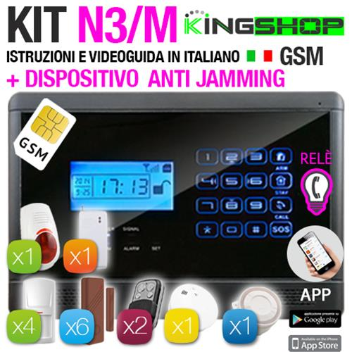 ANTIFURTO GSM WIRELESS N3M BLACK EDITION