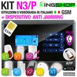 ANTIFURTO GSM WIRELESS N3P BLACK EDITION
