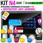ANTIFURTO GSM WIRELESS N4 BLACK EDITION