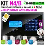 ANTIFURTO GSM WIRELESS N4B BLACK EDITION