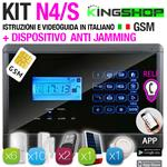 ANTIFURTO GSM WIRELESS N4S BLACK EDITION