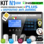 ANTIFURTO GSM WIRELESS N1 PLUS  BLACK EDITION