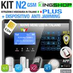 ANTIFURTO GSM WIRELESS N2 PLUS BLACK EDITION